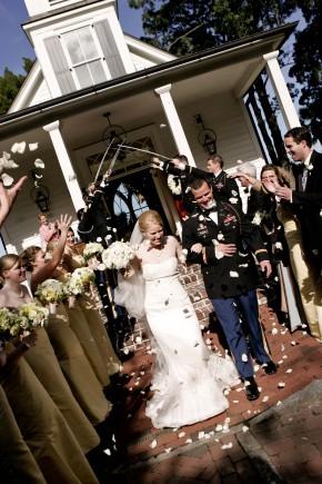 Saber Arch Wedding