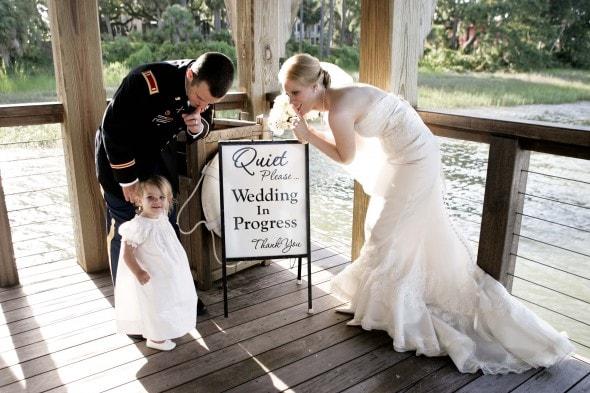 Wedding Quiet Sign