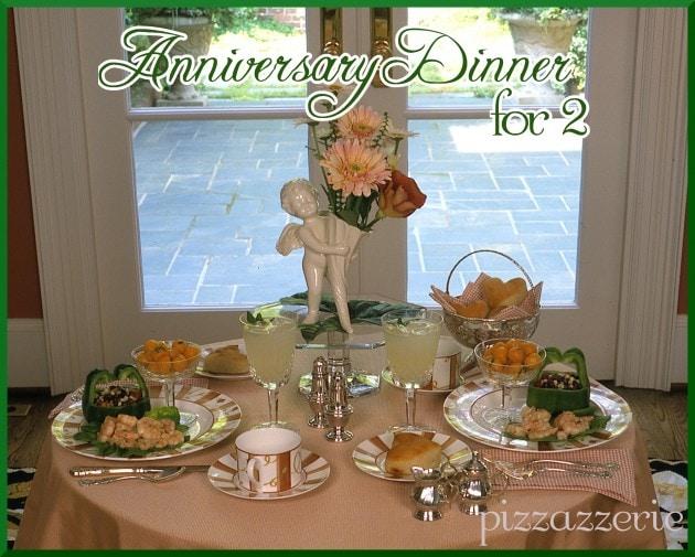 Anniversary Dinner Table