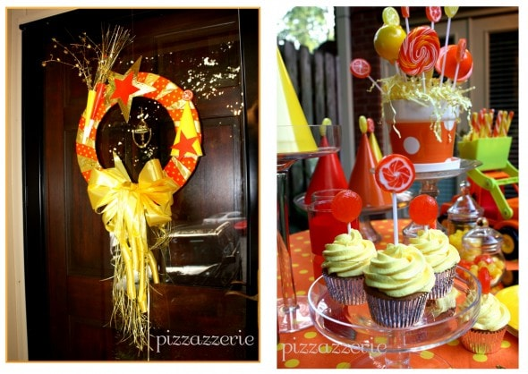 Orange and Yellow Party