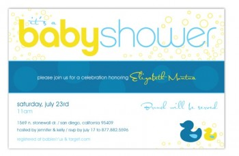 Ducky Invite