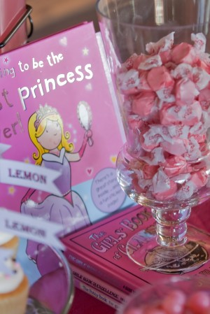 Princess Party with Pink Taffy