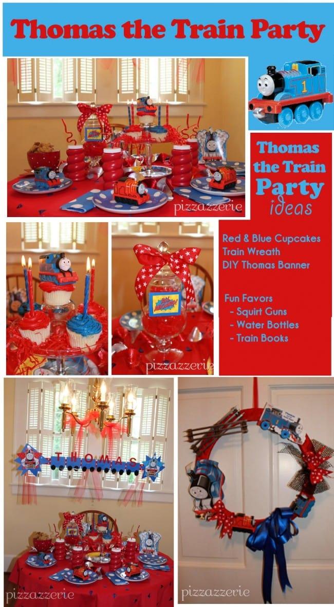 Thomas the Train Party Table