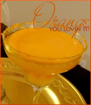 orange cocktail recipe