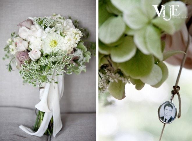 wedding bouquet locket