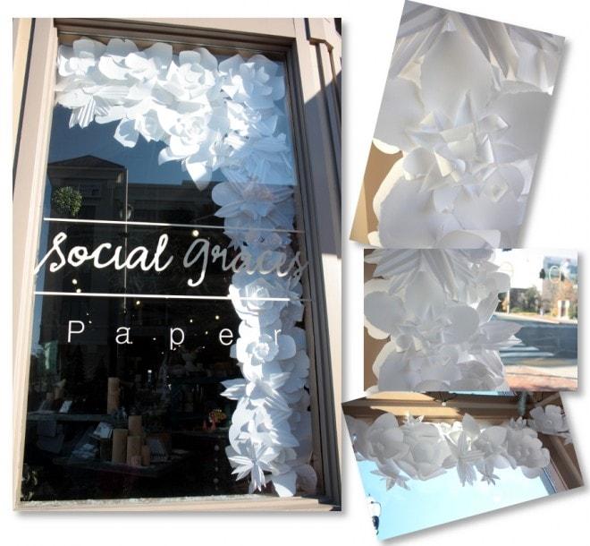 бумажные цветы социальные Преосвященные Нэшвилле
